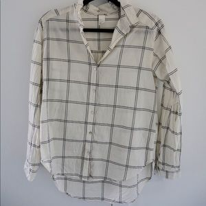 H&M Button Down Casual Blouse